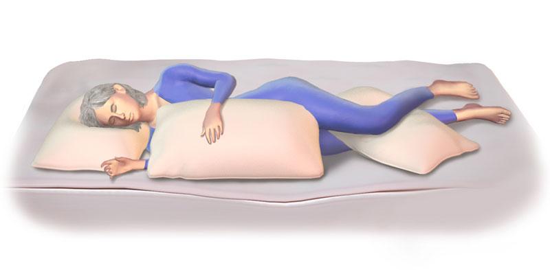 Come dormire se si soffre di mal di schiena