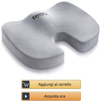 Feela-Cuscino-Ortopedico-per-Il-Sollievo-di-Dischi-Intervertebrali-e-Mal-di-Schiena